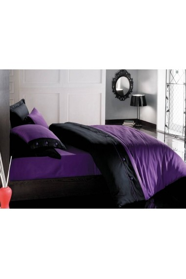 Set lenjerie de pat Cotton Box 129CTN3239 Violet