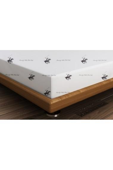 Cearsaf pentru pat dublu Beverly Hills Polo Club ASR-176BHP1210 Lila