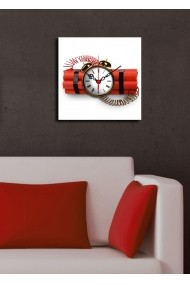 Ceas decorativ de perete Clock Art 228CLA1602 Multicolor