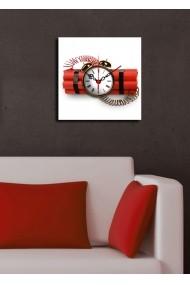 Ceas decorativ de perete Clock Art 228CLA1602 Multicolor