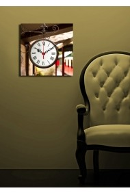 Ceas decorativ de perete Clock Art 228CLA1603 Multicolor