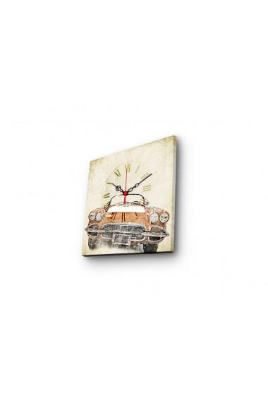 Ceas decorativ de perete Clock Art 228CLA1606 Multicolor