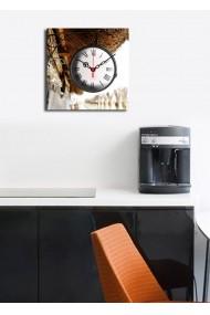 Ceas decorativ de perete Clock Art 228CLA1607 Multicolor