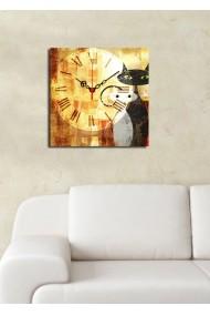 Ceas decorativ de perete Clock Art 228CLA1612 Multicolor