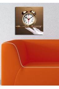Ceas decorativ de perete Clock Art 228CLA1613 Multicolor
