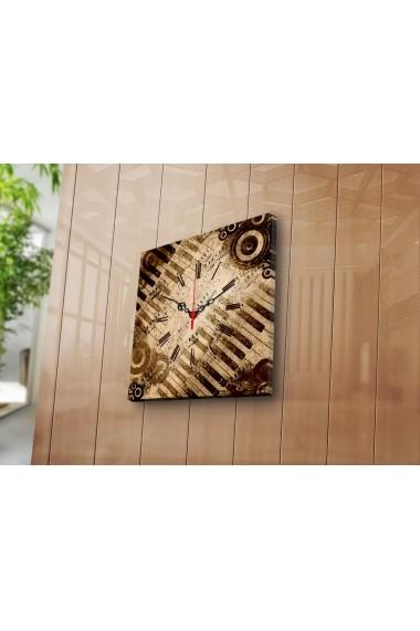 Ceas decorativ de perete Clock Art 228CLA1620 Multicolor