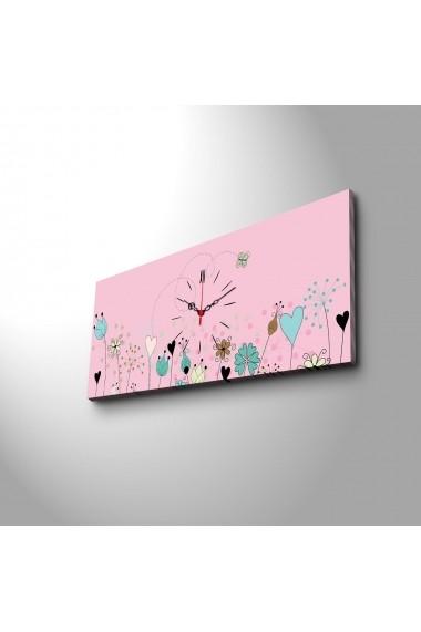 Ceas decorativ de perete Clock Art 228CLA1644 Multicolor
