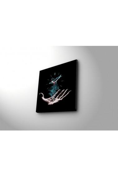 Ceas decorativ de perete Clock Art 228CLA1650 Multicolor