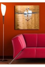 Ceas decorativ de perete Clock Art 228CLA1651 Multicolor