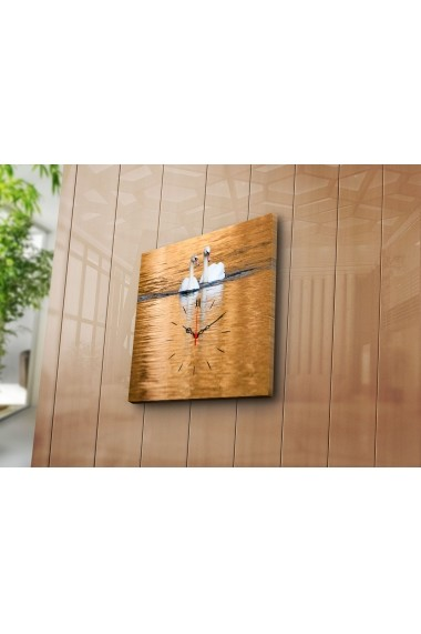 Ceas decorativ de perete Clock Art 228CLA1651 Multicolor