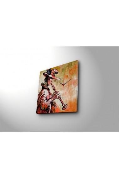 Ceas decorativ de perete Clock Art 228CLA1653 Multicolor
