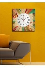Ceas decorativ de perete Clock Art 228CLA1658 Multicolor