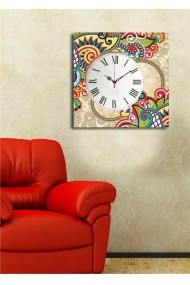 Ceas decorativ de perete Clock Art 228CLA1660 Multicolor