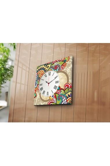 Ceas decorativ de perete Clock Art 228CLA1660 Multicolor
