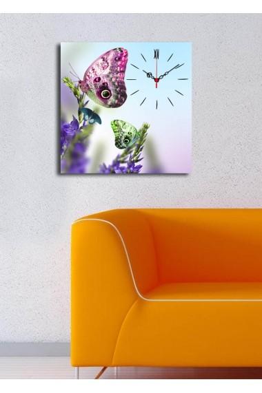 Ceas decorativ de perete Clock Art 228CLA1661 Multicolor