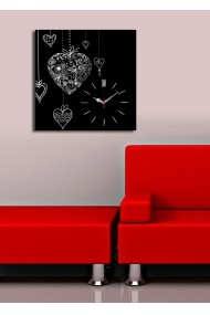 Ceas decorativ de perete Clock Art 228CLA1662 Multicolor