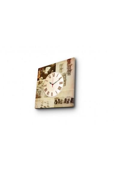 Ceas decorativ de perete Clock Art 228CLA1663 Multicolor