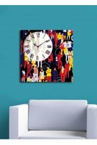 Ceas decorativ de perete Clock Art 228CLA1664 Multicolor