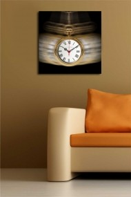 Ceas decorativ de perete Clock Art 228CLA1668 Multicolor
