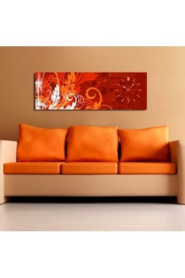 Ceas decorativ de perete Clock Art 228CLA1670 Multicolor