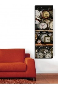 Ceas decorativ de perete Clock Art 228CLA1675 Multicolor
