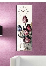 Ceas decorativ de perete Clock Art 228CLA1678 Multicolor