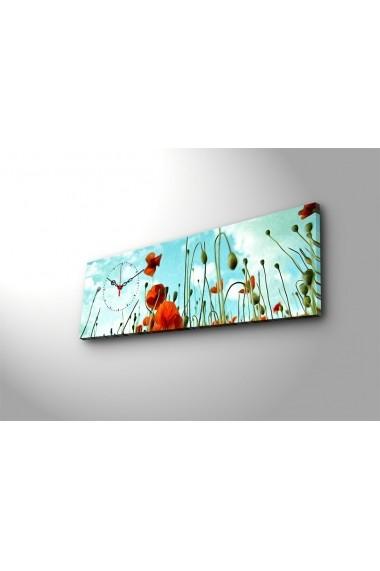 Ceas decorativ de perete Clock Art 228CLA1684 Multicolor