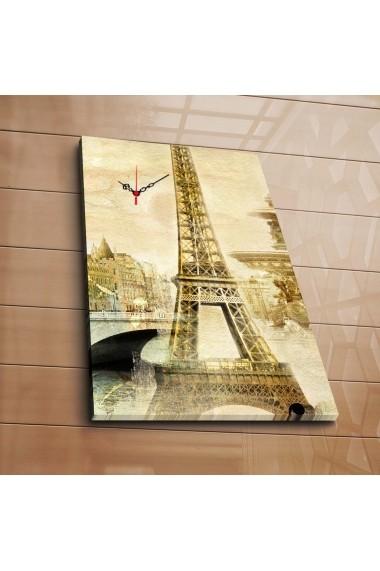 Ceas decorativ de perete Clock Art 228CLA1688 Multicolor