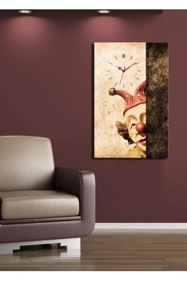 Ceas decorativ de perete Clock Art 228CLA1690 Multicolor