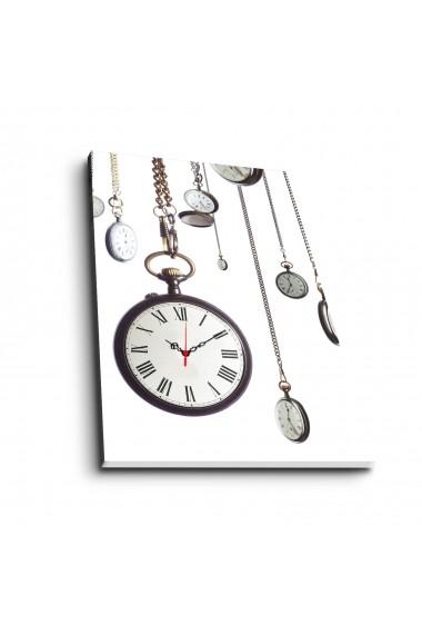 Ceas decorativ de perete Clock Art 228CLA1694 Multicolor
