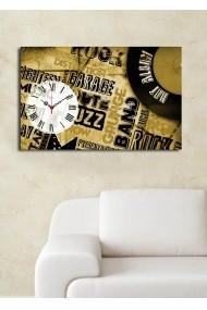 Ceas decorativ de perete Clock Art 228CLA1697 Multicolor