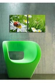 Ceas decorativ de perete(2 articole) Clock Art 228CLA2602 Multicolor