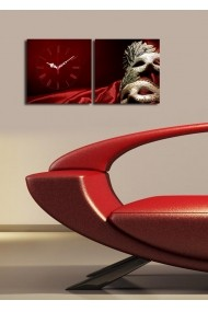 Ceas decorativ de perete(2 articole) Clock Art 228CLA2603 Multicolor