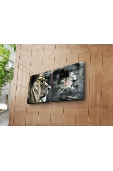Ceas decorativ de perete(2 articole) Clock Art 228CLA2606 Multicolor