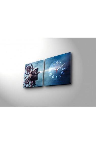 Ceas decorativ de perete(2 articole) Clock Art 228CLA2608 Multicolor