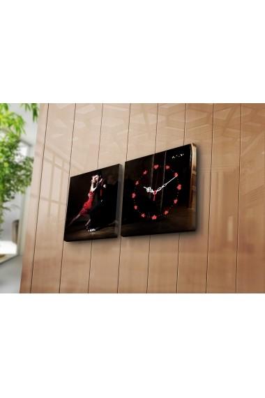 Ceas decorativ de perete(2 articole) Clock Art 228CLA2610 Multicolor