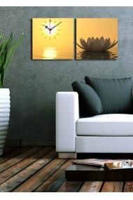 Ceas decorativ de perete(2 articole) Clock Art 228CLA2612 Multicolor