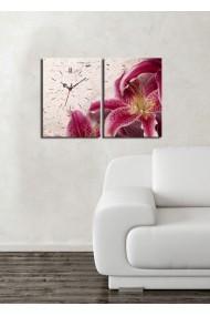 Ceas decorativ de perete(2 articole) Clock Art 228CLA2621 Multicolor