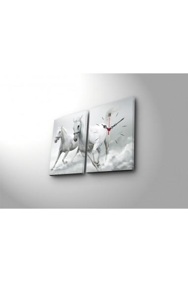Ceas decorativ de perete(2 articole) Clock Art 228CLA2626 Multicolor