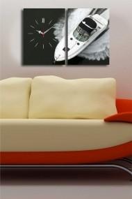 Ceas decorativ de perete(2 articole) Clock Art 228CLA2629 Multicolor