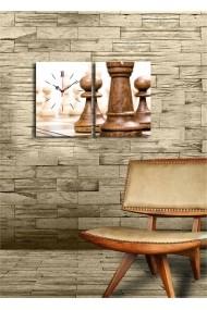 Ceas decorativ de perete(2 articole) Clock Art 228CLA2630 Multicolor