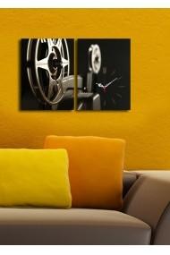 Ceas decorativ de perete(2 articole) Clock Art 228CLA2636 Multicolor