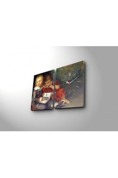 Ceas decorativ de perete(2 articole) Clock Art 228CLA2640 Multicolor