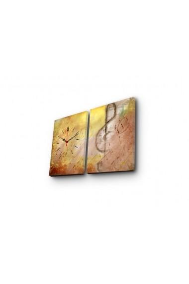 Ceas decorativ de perete(2 articole) Clock Art 228CLA2641 Multicolor