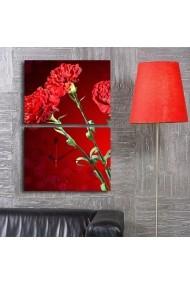 Ceas decorativ de perete(2 articole) Clock Art 228CLA2642 Multicolor