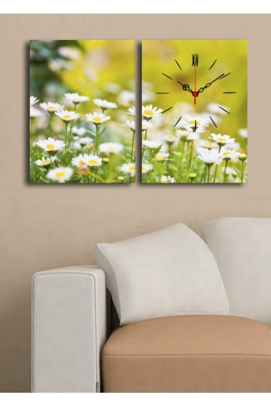 Ceas decorativ de perete(2 articole) Clock Art 228CLA2644 Multicolor