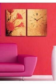 Ceas decorativ de perete(2 articole) Clock Art 228CLA2645 Multicolor