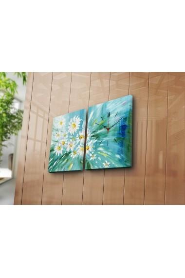 Ceas decorativ de perete(2 articole) Clock Art 228CLA2646 Multicolor