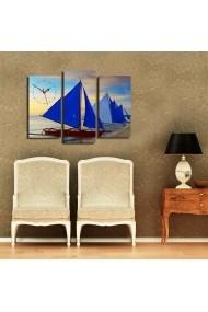 Ceas decorativ de perete(3 articole) Clock Art 228CLA2653 Multicolor
