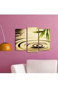 Ceas decorativ de perete(3 articole) Clock Art 228CLA2655 Multicolor